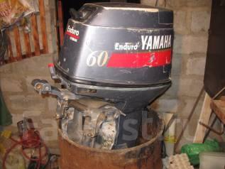 Yamaha. 60,00л.с., 2х тактный, бензин, нога L (508 мм), Год: 2008 год