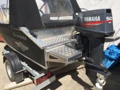 Yamaha. 50,00л.с., 2х тактный, бензин, нога L (508 мм), Год: 1998 год