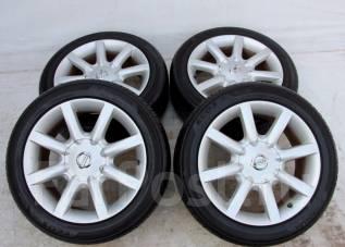 Колёса с шинами =Nissan= R17! 2014 год! 8мм! (№ 49882). 7.5x17 5x114.30 ET35