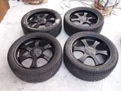 Комплект стильных колес R22 на джип из Японии. 9.0x22 6x139.70 ET20 ЦО 110,0мм.