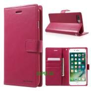 Чехол-книжка с магнитной застежкой Mercury для iPhone 7 PLUS Малиновый