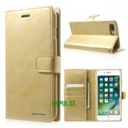 Чехол-книжка с магнитной застежкой Mercury для iPhone 7 PLUS Золотой