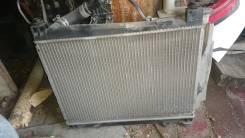 Радиатор охлаждения двигателя. Toyota Funcargo, NCP20, NCP25, NCP21 Двигатели: 2NZFE, 1NZFE