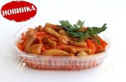 Морковь острая с грибами (Готовые обеды)
