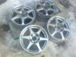 Bridgestone Alpha. 6.5x15, 4x114.30, 5x114.30, ET53, ЦО 73,0мм.