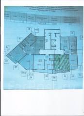 1-комнатная, улица Ватутина 4д. 64, 71 микрорайоны, агентство, 33 кв.м. План квартиры