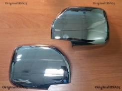 Накладка на зеркало. Toyota Land Cruiser, HDJ101, HDJ101K, UZJ100, UZJ100L, HDJ100L, FZJ100, UZJ100W, FZJ105, HDJ100 Двигатели: 1HDT, 1HDFTE, 1FZFE, 2...