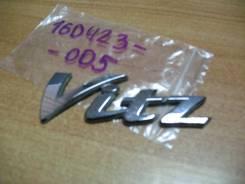 """Эмблема """"Vitz"""" задняя правая, Toyota Vitz, SCP 10. ."""