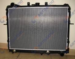 Радиатор охлаждения двигателя. Mazda: Bongo, Bongo Brawny, Ford Spectron, J100, Eunos Cargo