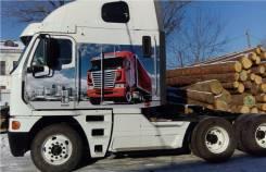 Freightliner Argosy. Freghtliner argosy, 10 800 куб. см., 24 997 кг.