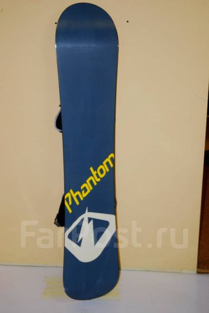 2d0609300736 Сноуборд Phantom 140 см + крепления Drake - Сноуборды во Владивостоке