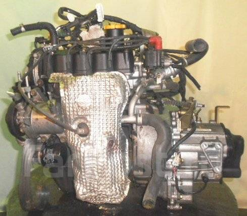 Двигатель с КПП, Subaru EN07AT TM640Adaha FF RC1