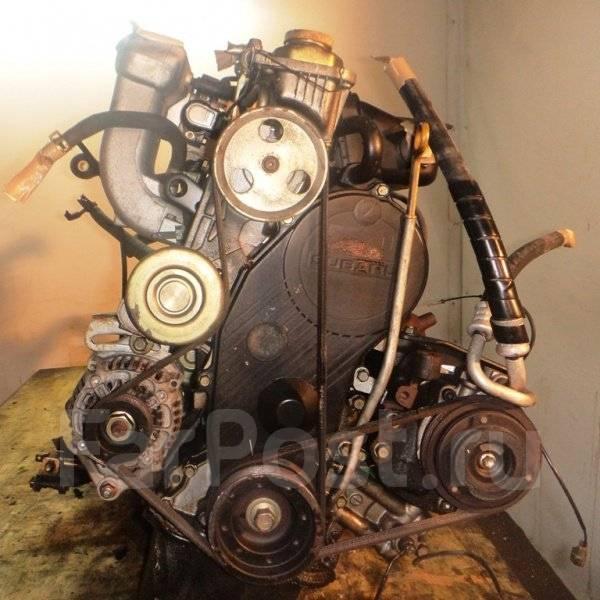 Двигатель с КПП, Subaru EN07 - 441430 MT FF трамблер