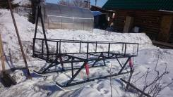 Продам сани для снегохода пробег 40 км