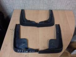 Брызговики. Nissan Tiida, C11X, C11