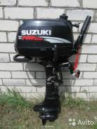 Suzuki. 6,00л.с., 4х тактный, бензин, нога L (508 мм), Год: 2009 год