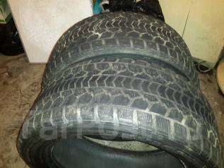Dunlop Grandtrek SJ5. Зимние, без шипов, износ: 90%, 2 шт