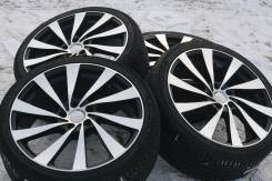 """19 Blonks Badx 5x114.3 c резиной 235/35ZR19 Forgiato. 8.0x19 5x114.30 ET38 ЦО 73,0 мм."