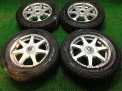 195/65R15 Dunlop DSX-2 2012/13г R15*6J+35 4*100/114.3 FEID (0821). 6.0x15 4x100.00, 4x114.30 ET35