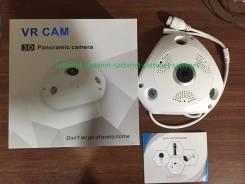 Панорамная 3D камера видеонаблюдения 360*,960P,1,3 MP, WIFI, PST-IPFE02. с объективом
