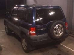 Дверь багажника. Mitsubishi Pajero iO, H76W
