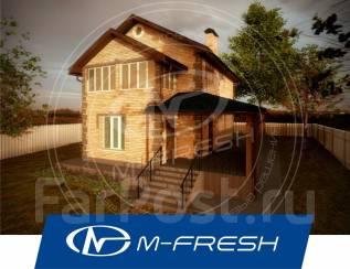 M-fresh November-зеркальный. 100-200 кв. м., 2 этажа, 4 комнаты, дерево