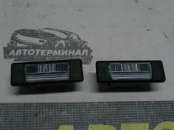 Фонари подсветки номера Nissan Juke