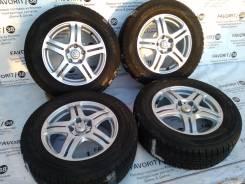 Оригинальные диски Nissan на зимней резине Dunlop 215/65R16. 6.5x16 5x114.30 ET45