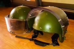 Бронешлем штурмовой ЗШ-1-2, 2 класс защиты, с забралом