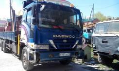 Daewoo Ultra Novus. Продам грузовик с краном манипулятором Daewoo Ultra, 4 200 куб. см., 15 000 кг.