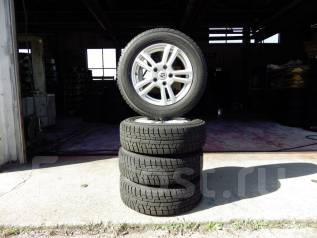 Колеса из Японии в отличном состоянии. Диски Weds Joker на зиме #179. 6.0x15 5x114.30 ET48 ЦО 73,0мм.