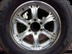 Toyota Land Cruiser Prado. 7.5x17, 6x139.70, ET24, ЦО 73,0мм.