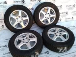 """Красивый комплект дисков """"Sibilla"""" на зиме Dunlop 205/65R15. 6.0x15 5x114.30 ET45"""