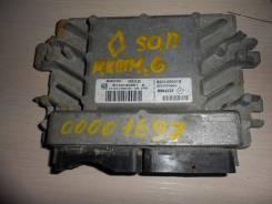 Блок управления двс. Renault Sandero Renault Logan Двигатель K4M