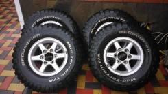 Колеса BFGoodrich Mud-Terrain T/a KM2 31x10,5R15 на литье Bredley VZ. 7.0x15 6x139.70 ET40 ЦО 100,0мм.