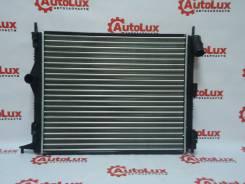 Радиатор охлаждения двигателя. Renault Logan Двигатели: D4F, K7M, K7J, K4M