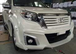 Обвес кузова аэродинамический. Toyota Land Cruiser Prado, GRJ150L, TRJ12, KDJ150L, GRJ150W, GRJ151W. Под заказ
