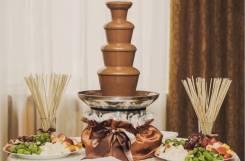 Шоколадный фонтан и фруктовые композиции! Сделайте Ваш праздник ярче!