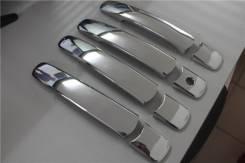 Накладка на ручки дверей. Nissan X-Trail. Под заказ