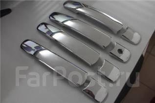Накладка на ручки дверей. Nissan X-Trail, NT31, HNT32, TNT31, NT32, HT32, T32, T31, DNT31 Двигатели: MR20DE, MR20DD, QR25DE, R9M, M9R. Под заказ