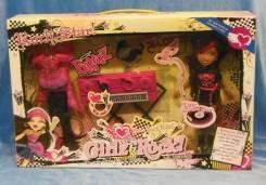 Кукла БРАТС с синтезатором