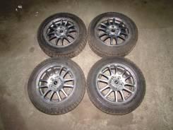 Продам красивые колеса 5*114,3 с хорошей всесезонной резиной. x15 5x114.30