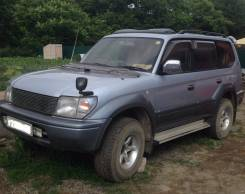 Toyota Land Cruiser Prado. автомат, 4wd, 3.0 (125 л.с.), дизель, 100 тыс. км, нет птс