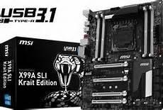 MSI X99S SLI Krait Edition