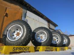 Mickey Thompson. 10.0x15, 6x139.70, ET-46, ЦО 108,0 мм.