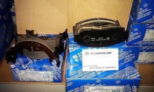 Колодка тормозная. Lexus RX330, GSU35, GSU30, MCU35, MCU33, MCU38 Lexus RX400h, MHU38, MHU33 Lexus RX300, GSU35, MCU35, MCU38 Lexus RX350, MCU38, MCU3...