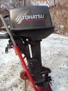 Tohatsu. 9,80л.с., 2х тактный, бензин, нога S (381 мм), Год: 2005 год
