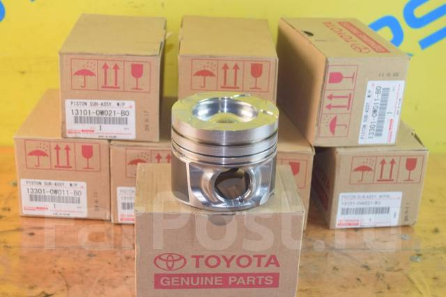 Поршень. Toyota Land Cruiser, VDJ76, VDJ200, VDJ78, VDJ79 Двигатель 1VDFTV