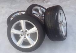 Жирный комплект колес AUDI R20 9J ET60 на резине 275/45/20. 9.0x20 5x130.00 ET60 ЦО 71,6мм.