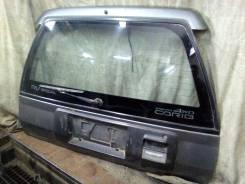 Дверь багажника. Toyota Sprinter Carib, AE95, AE95G Двигатели: 4AFHE, 4AFE
